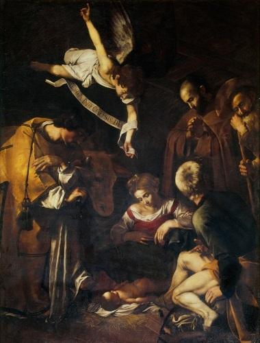 Caravaggio-Nativity-500