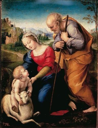Sacra-famiglia-Raffaello-500